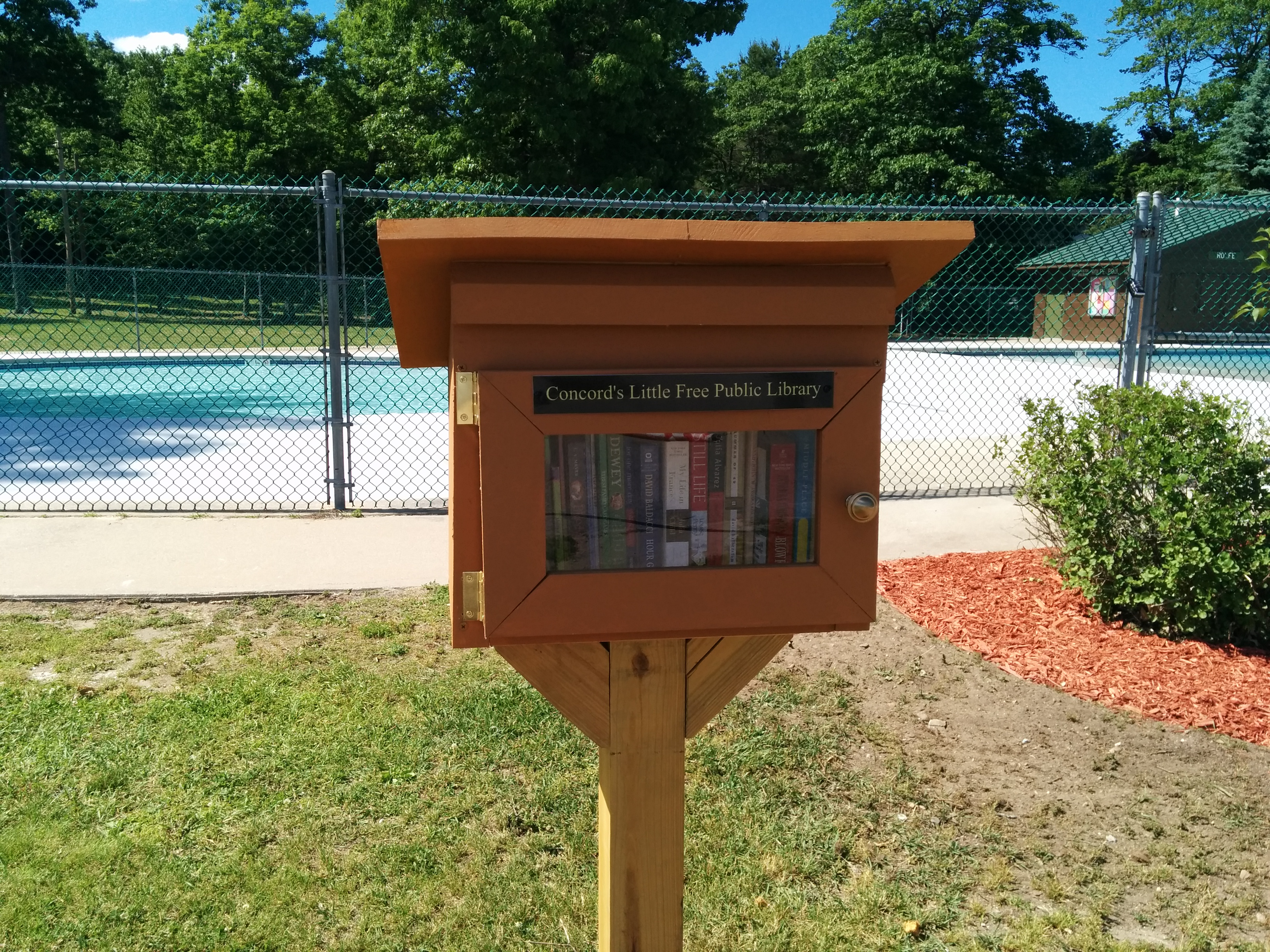 Rolfe Park Little Free Library