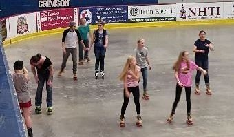 Everett Arena Roller Skating Group