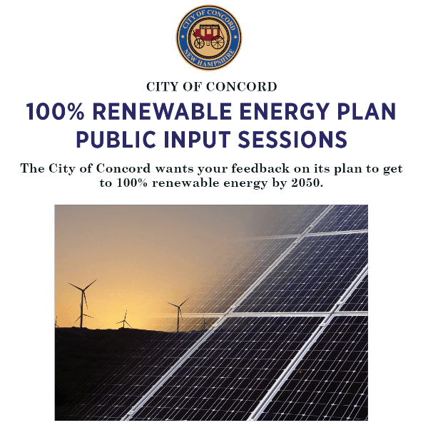 Energy and Env Committee Public Input Sessions Flyer