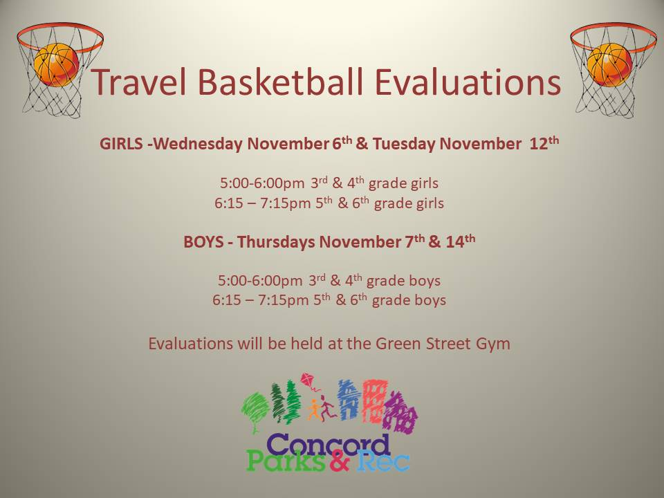 Travel Basketball Evaluations