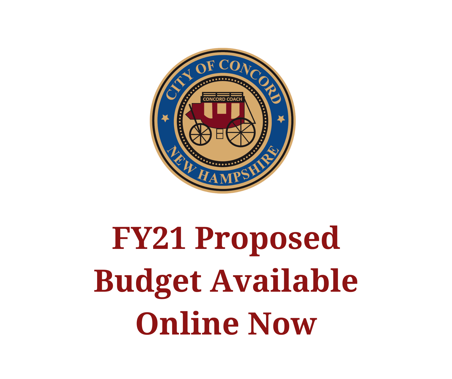 FY21 Proposed Budget Available Online Now