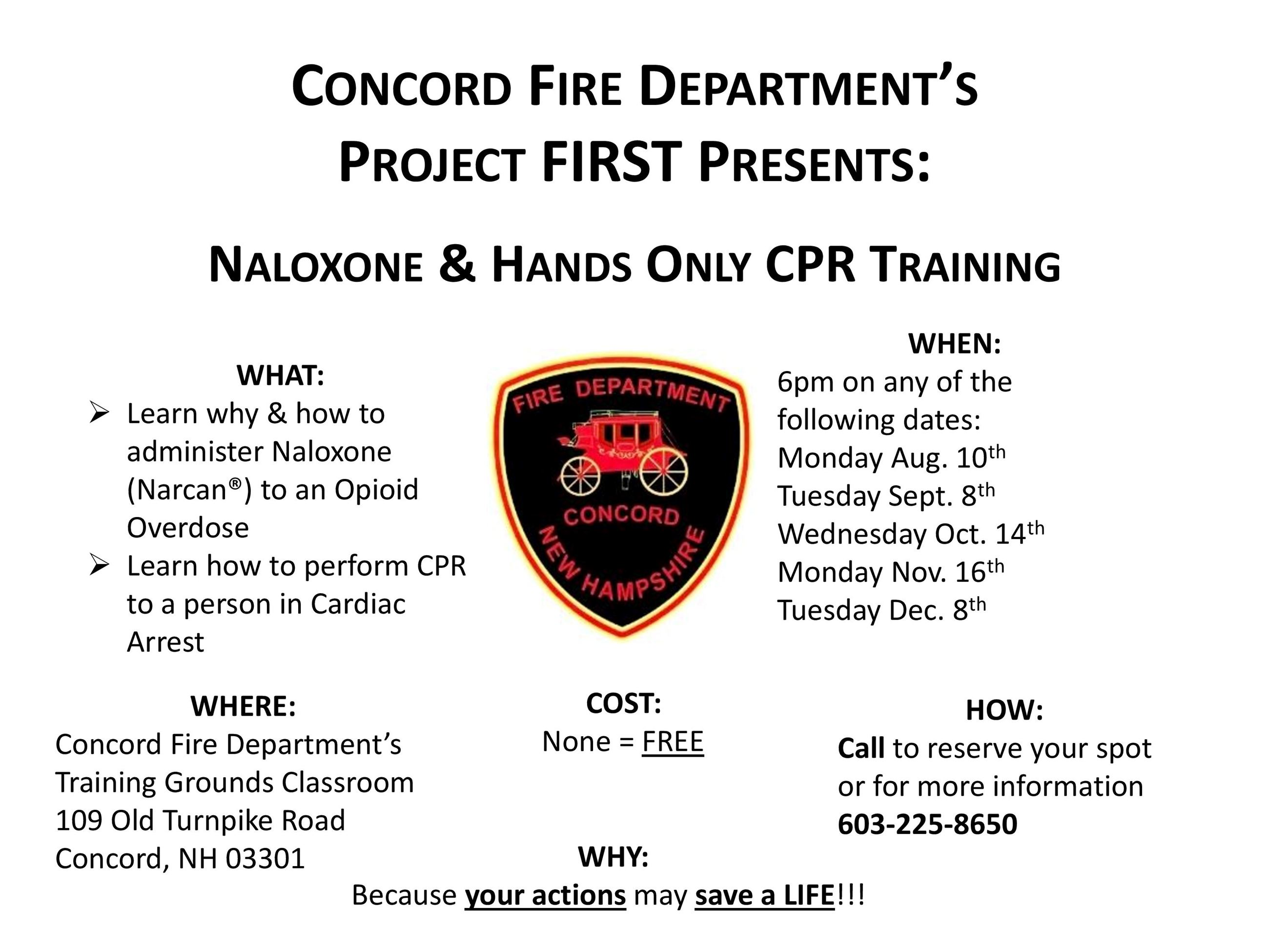 CFD Nal CPR Training Aug 2020
