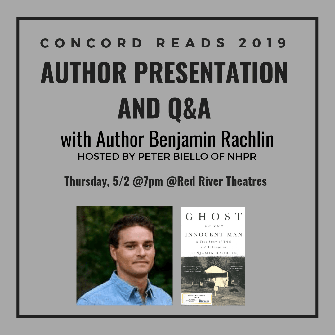 Concord Reads 2019 Author Event Graphic