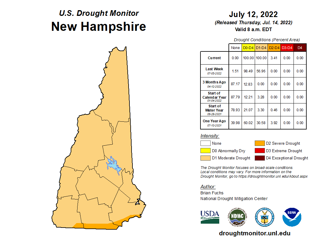 NH Drought Map 92420 Opens in new window
