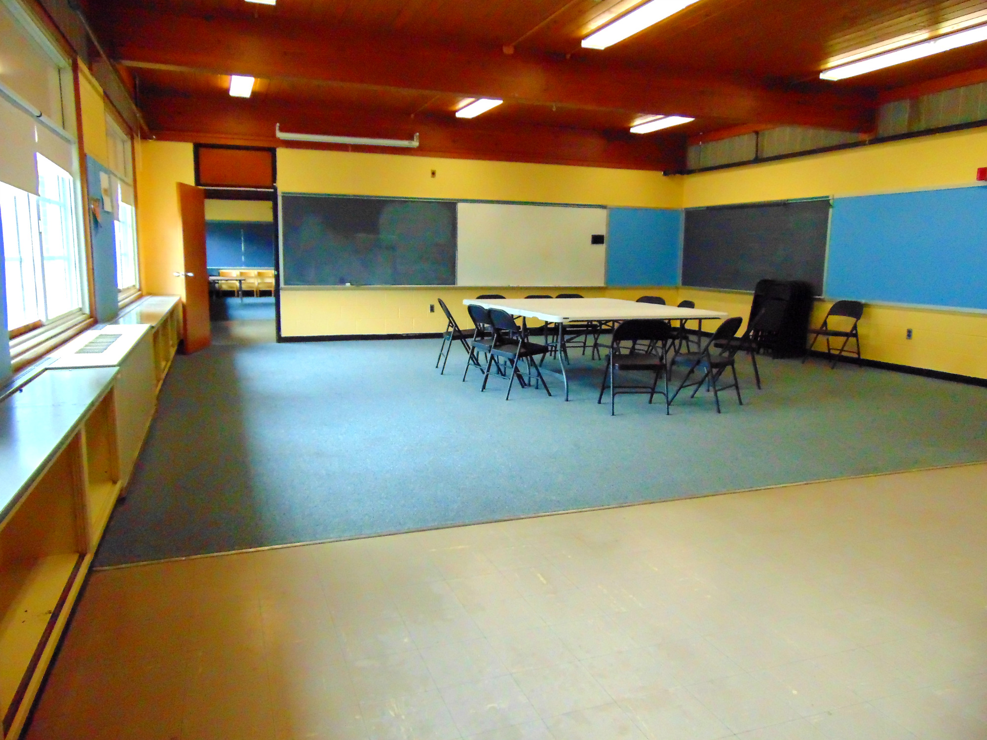 Heights Community Center room