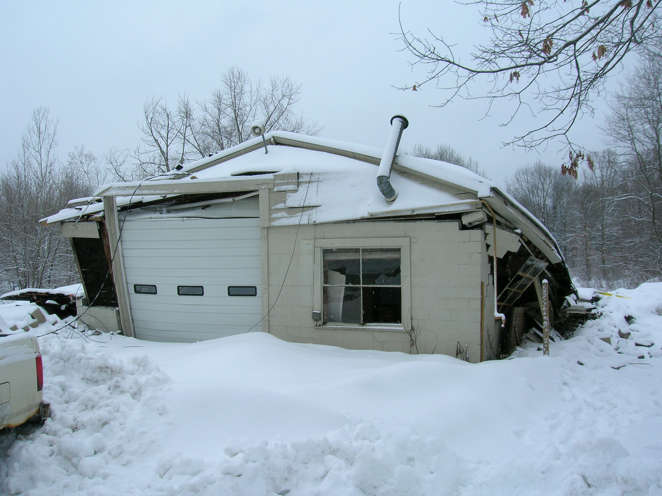 Elm Street Residence Collapse