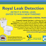 Concord General Services EPA WaterSense Royal Leak Detection