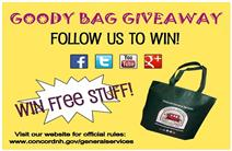 General Services Goody Bag Giveaway