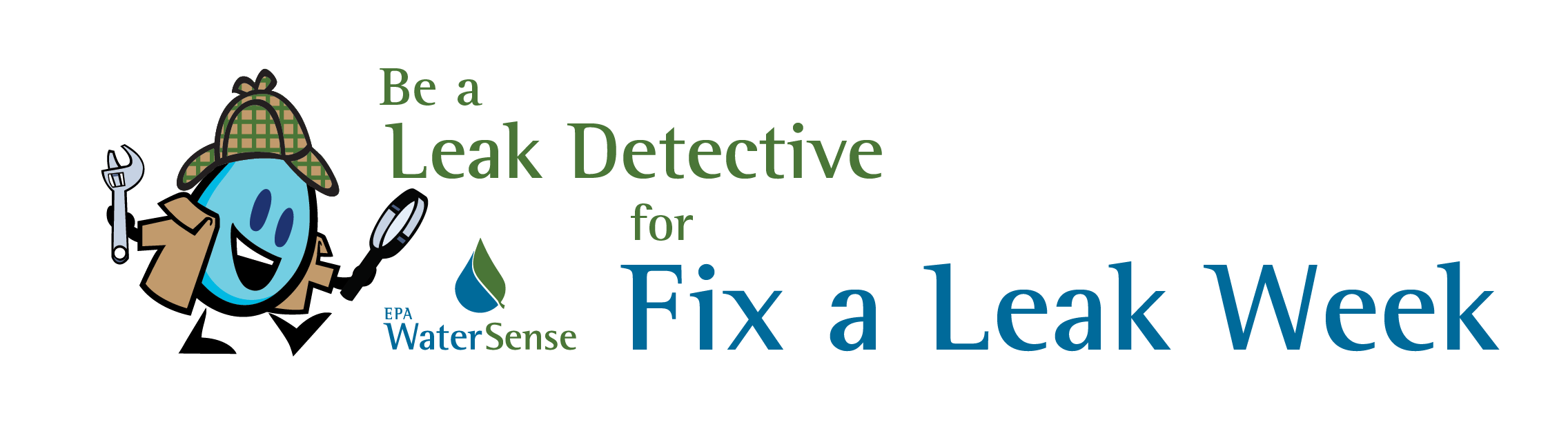 WaterSense Fix A Leak Week Leak Detective