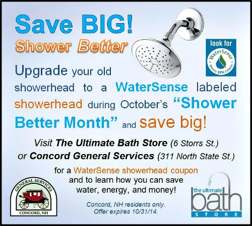 WaterSense Showerhead Discount Shower Better Ultimate Bath Store