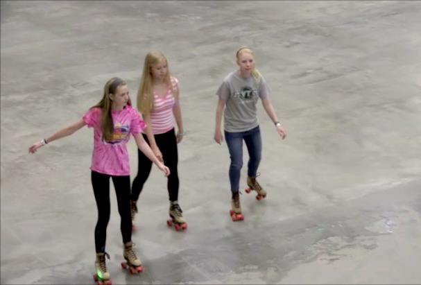 Everett Arena Roller Skating