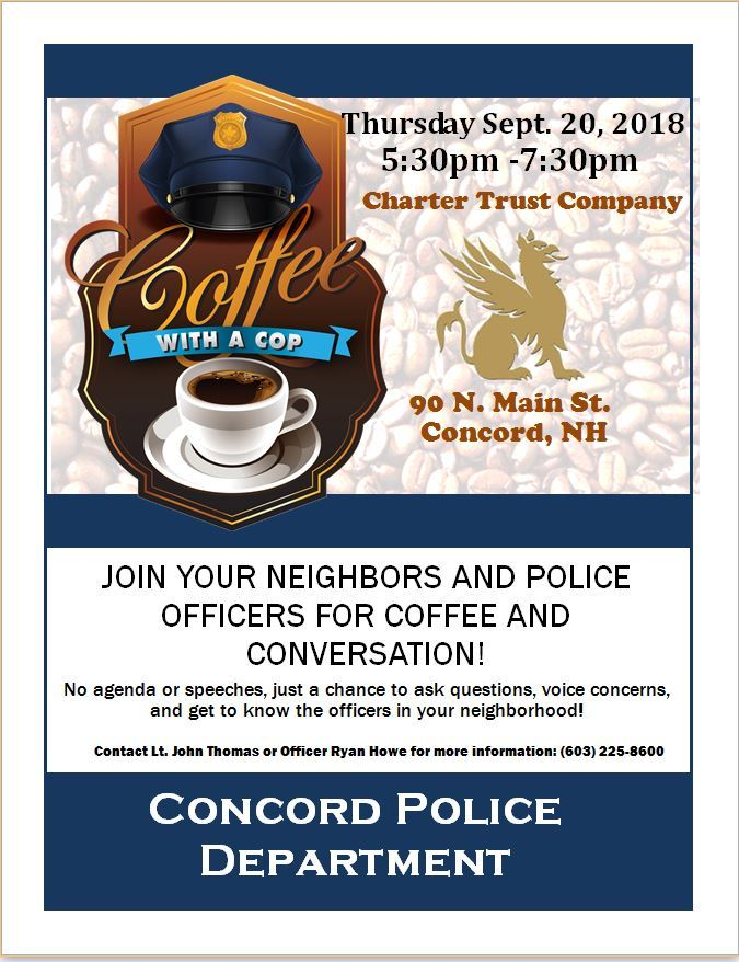 Coffee with a Cop Charter Trust