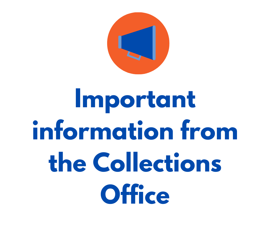 Information from the Collections Office